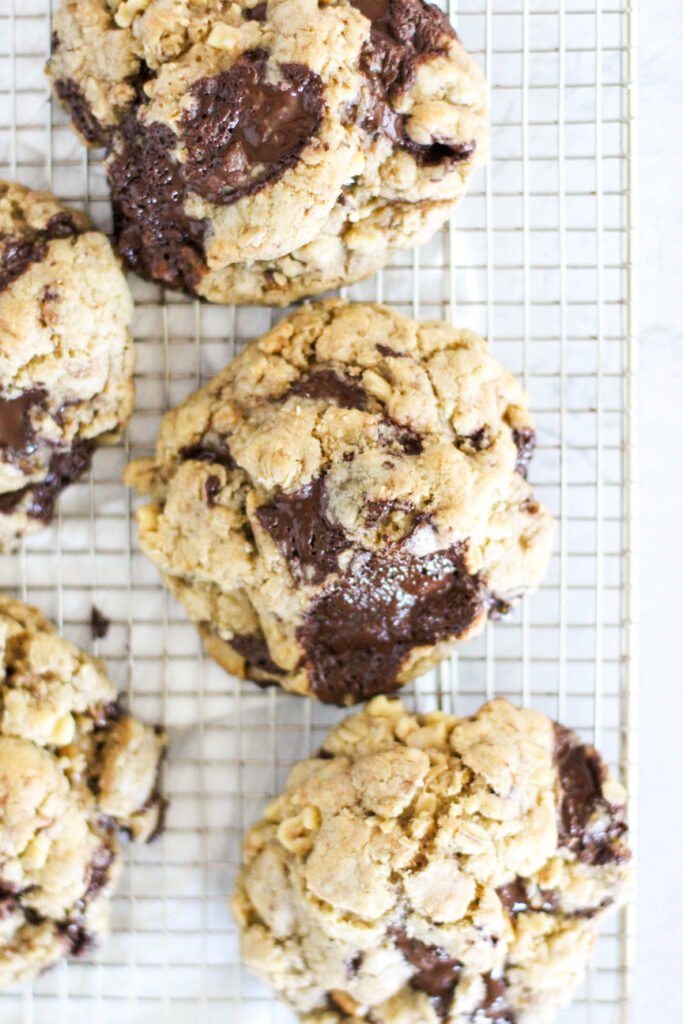 High Altitude Oatmeal Cookies With Chocolate