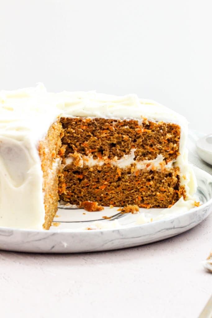 Easy High-Altitude Carrot Cake