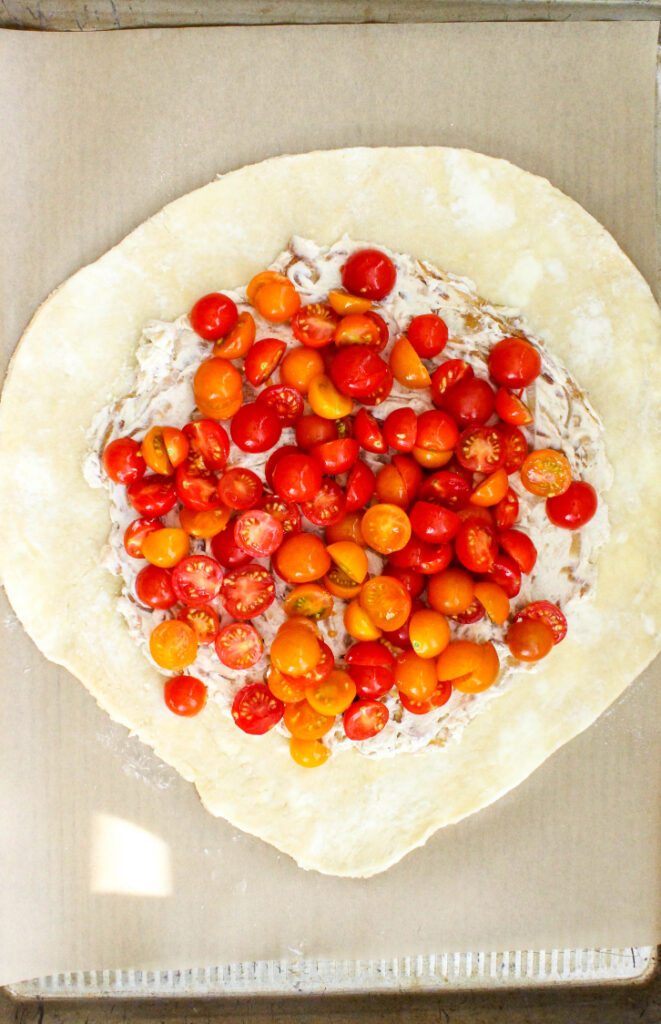 How To Make A Tomato Galette